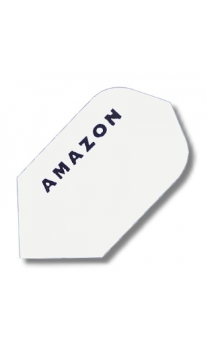 Amazon, Slim-Form, weiss